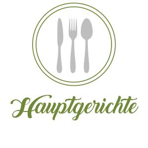 Speisekarte-Hauptgerichte